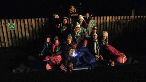 1st Wetheral Brownies get ready for the Big Sleep