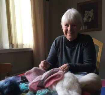Valerie, one Winter Warmth grant recipient