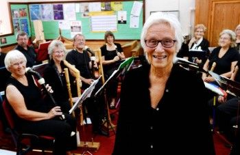 Bridget Hilton, who conducts the Cockermouth U3A music group Alte Musik
