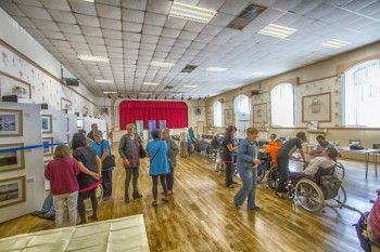 The COSC photography exhibition at Egremont Market Hall