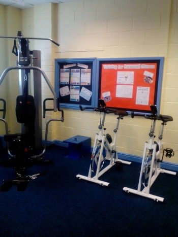 West Cumbria Achievement Zone - gym bikes