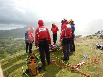 LDSAMRA rope training in the fells